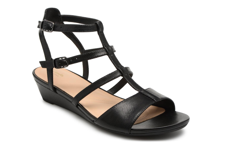 Grandes descuentos últimos zapatos Clarks Parram Spice (Negro) - Sandalias Descuento
