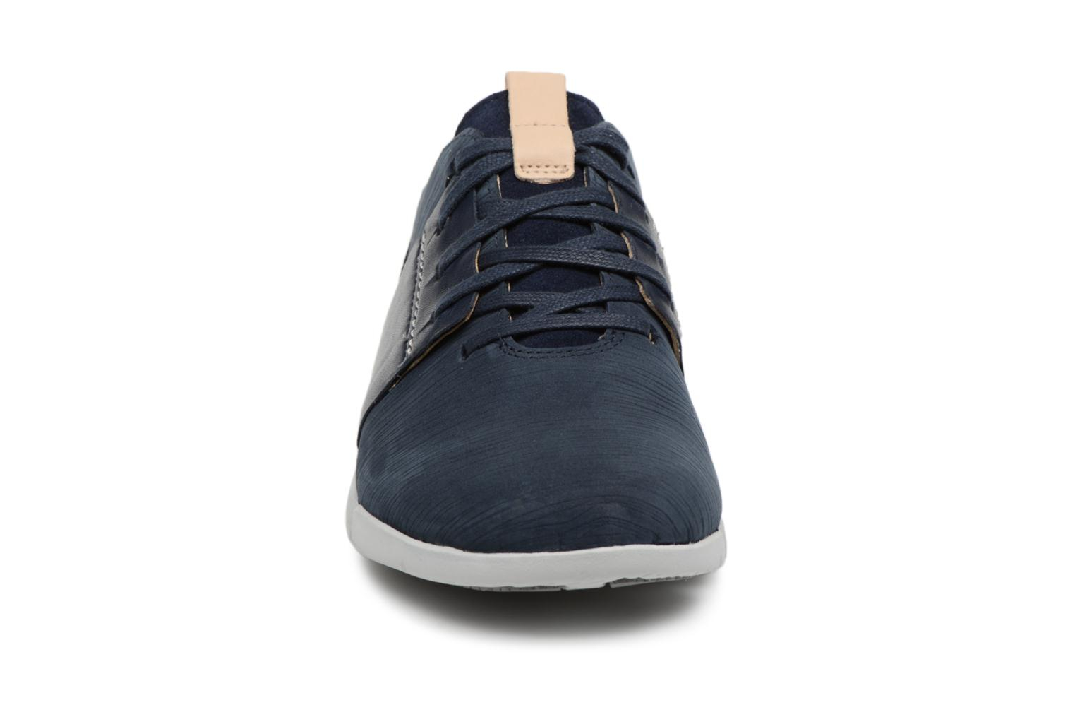 Trainers Clarks Tri Caitlin Blue model view