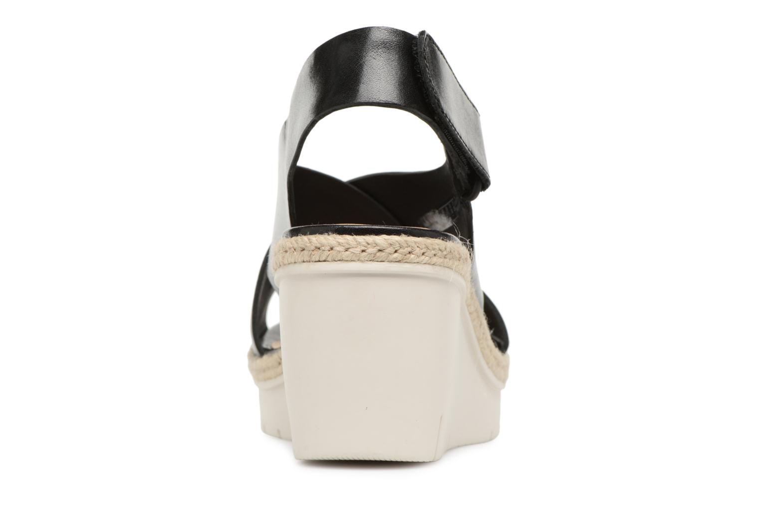 Sandals Clarks Palm Glow Black view from the right