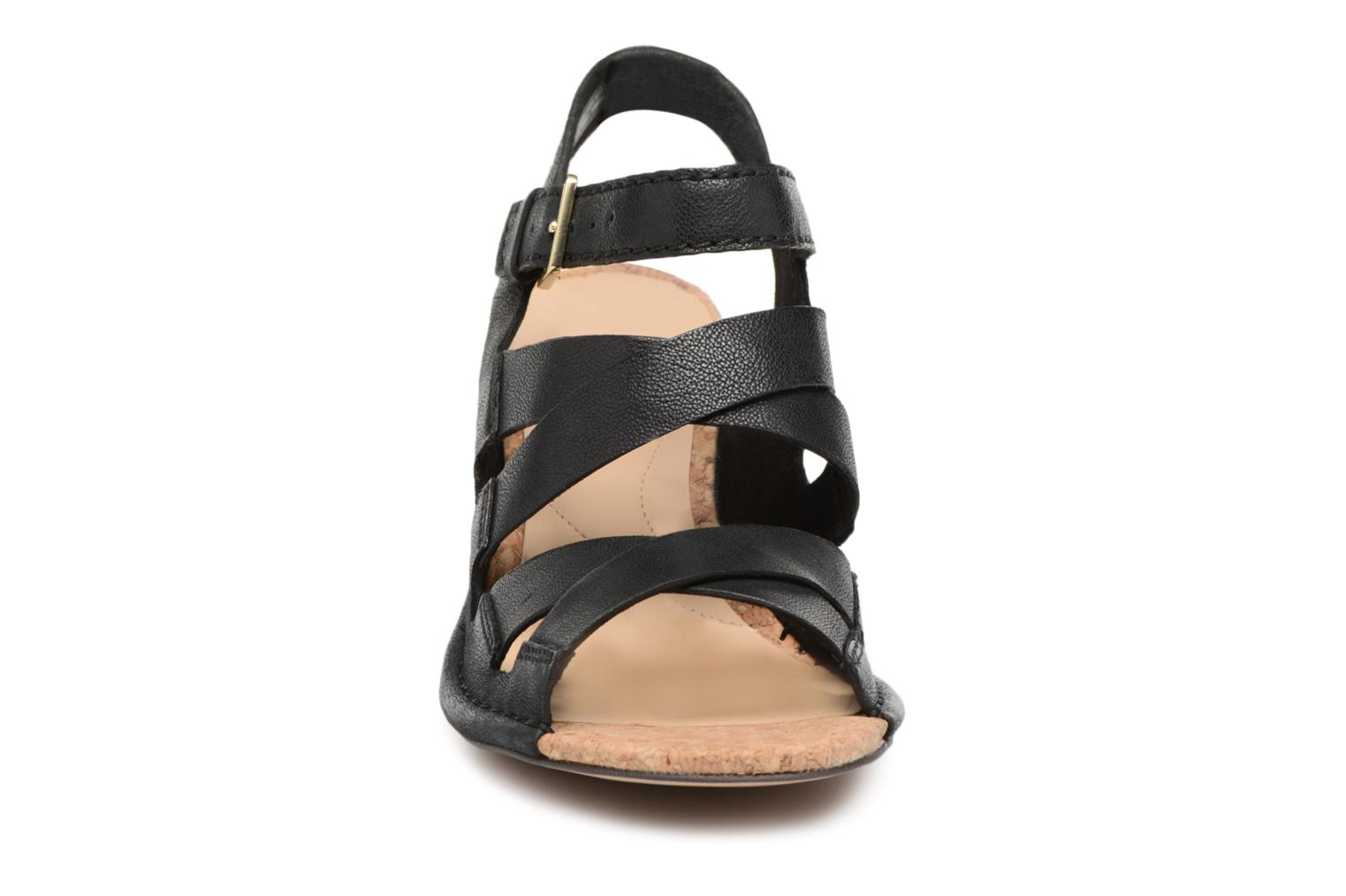 Sandals Clarks Spiced Ava Black model view