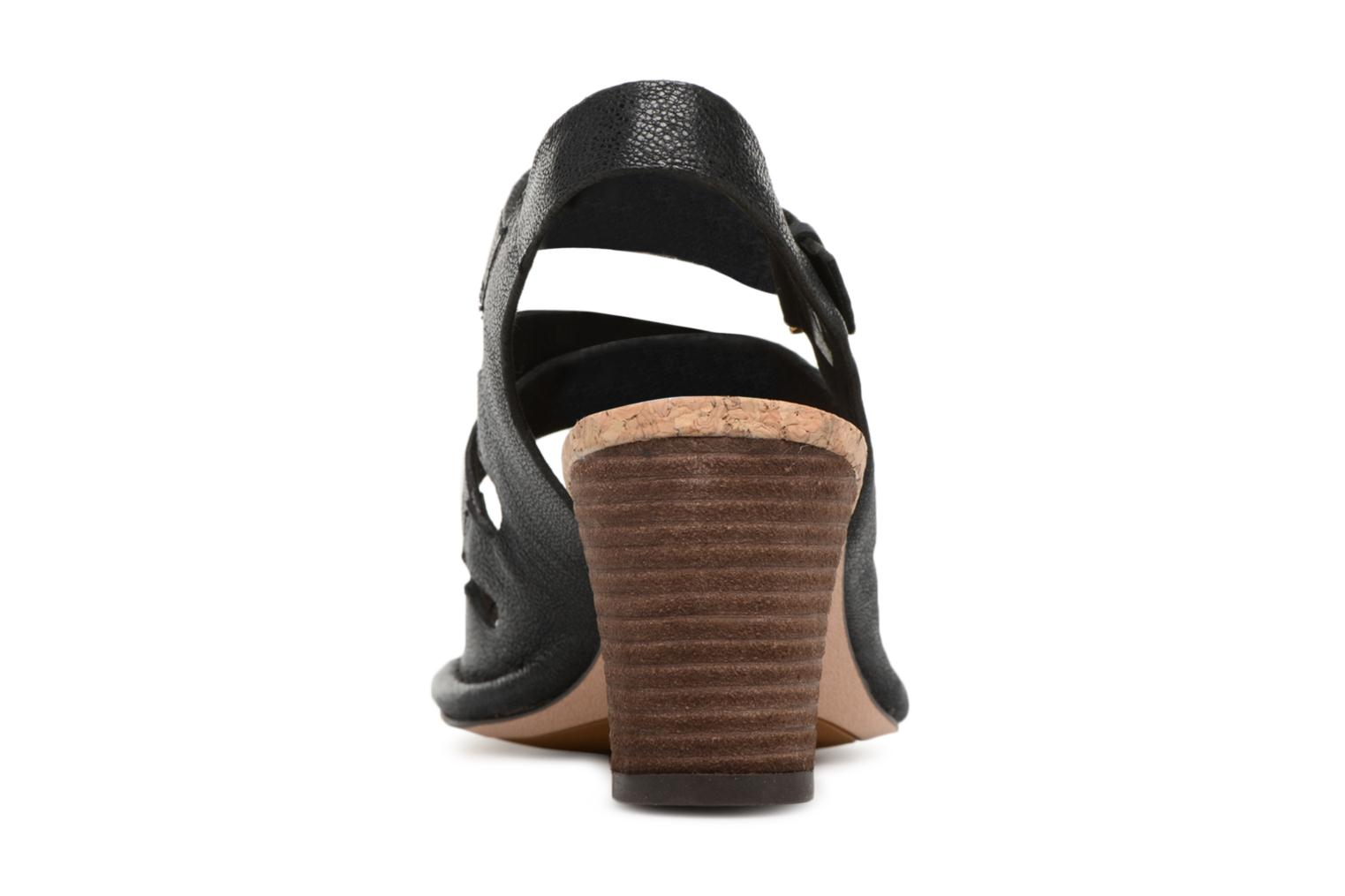 Sandals Clarks Spiced Ava Black view from the right