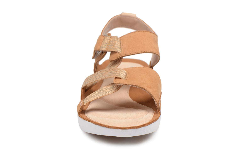Sandals Clarks Tri Clover Beige model view