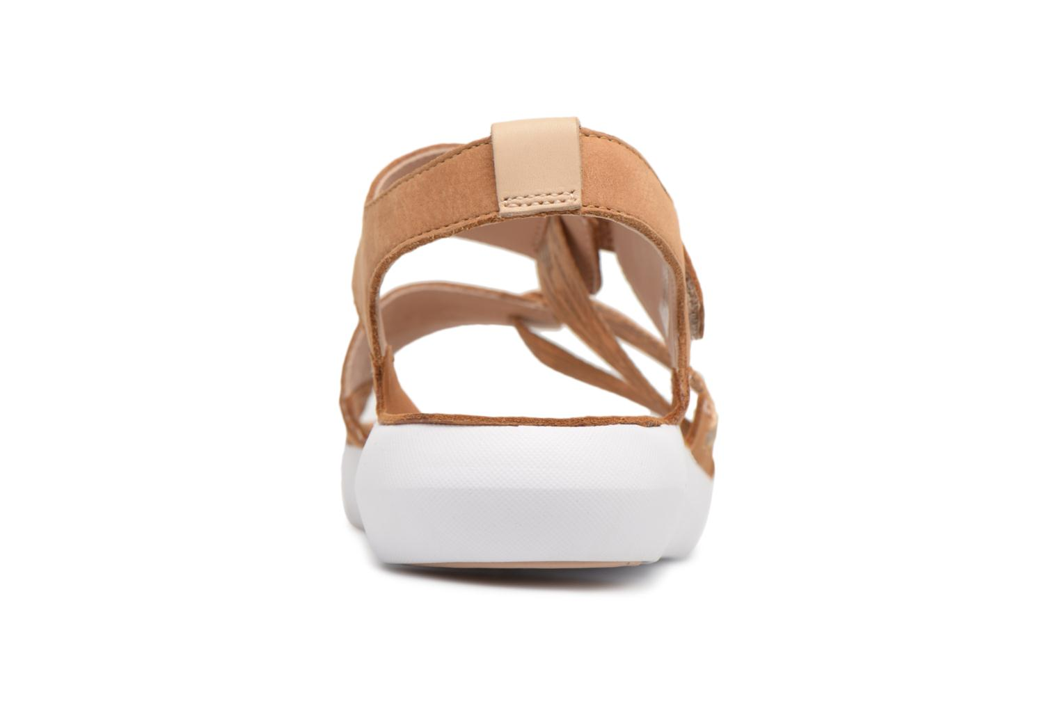 Sandals Clarks Tri Clover Beige view from the right