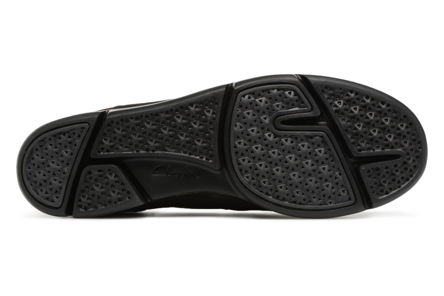 Trainers Clarks Tri Curve Black view from above