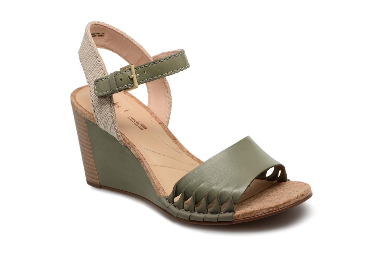 Clarks Spiced Poppy (Vert) - Sandales et nu-pieds chez Sarenza (320091)