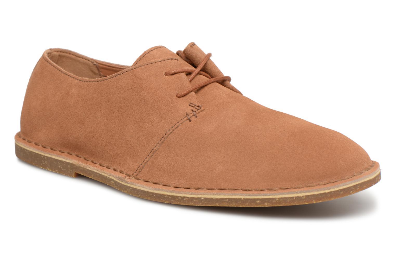 f58cd34bc498c ... Clarks Baltimore Lace (Marron) - Chaussures à lacets chez Sarenza  (320129)