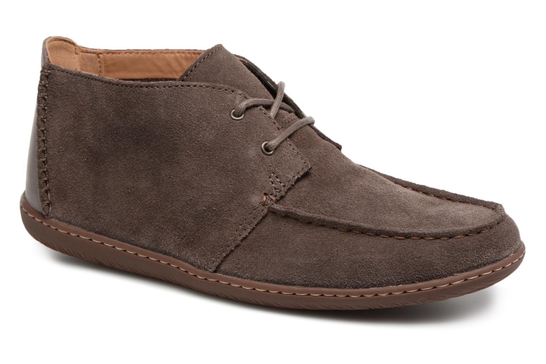 Clarks Saltash Mid (Gris) - Bottines et boots chez Sarenza (320134)