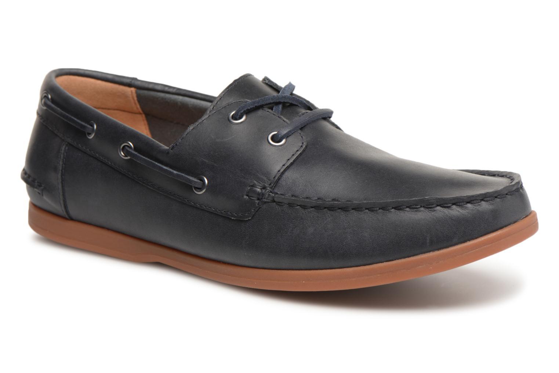 Clarks Morven Sail (Bleu) - Chaussures à lacets chez Sarenza (320137)
