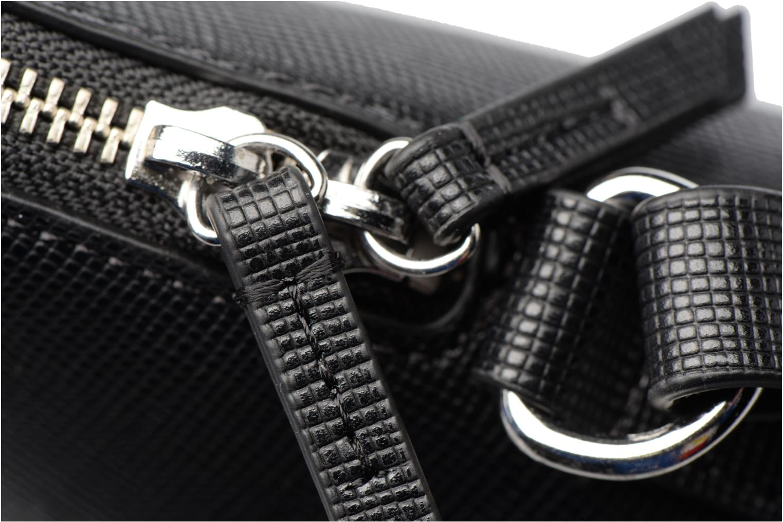 Handtaschen Clarks Millwood Art schwarz ansicht von links
