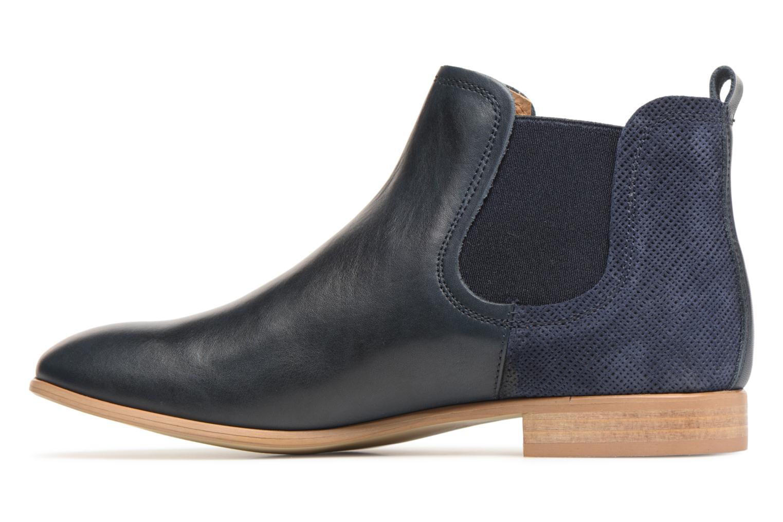 Bottines et boots Georgia Rose Aniline Bleu vue face