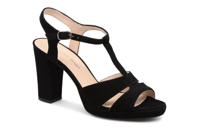 Sandales et nu-pieds Georgia Rose Lapatou Noir vue détail/paire