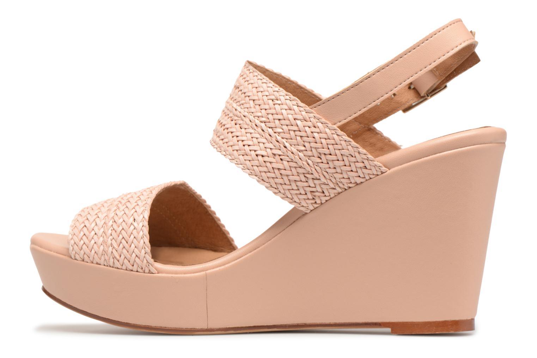 Sandales et nu-pieds Georgia Rose Abloca Beige vue face