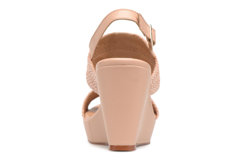 Sandales et nu-pieds Georgia Rose Abloca Beige vue droite