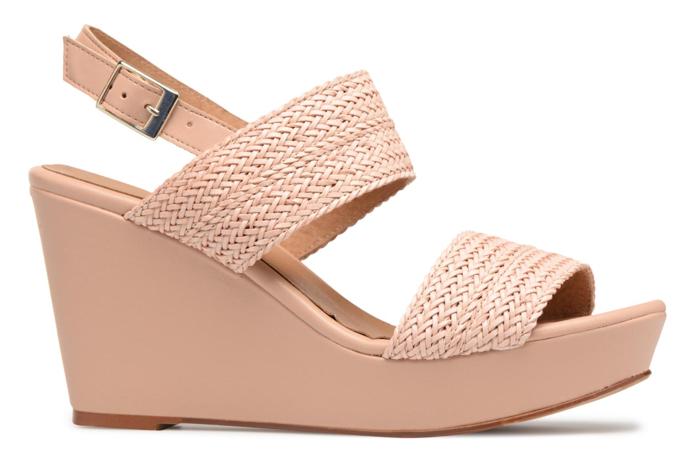 Sandales et nu-pieds Georgia Rose Abloca Beige vue derrière