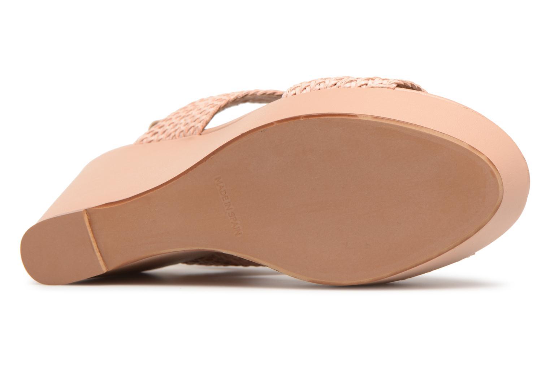 Sandales et nu-pieds Georgia Rose Abloca Beige vue haut