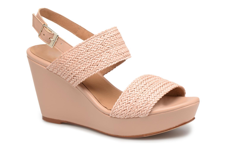 Sandales et nu-pieds Georgia Rose Abloca Beige vue détail/paire