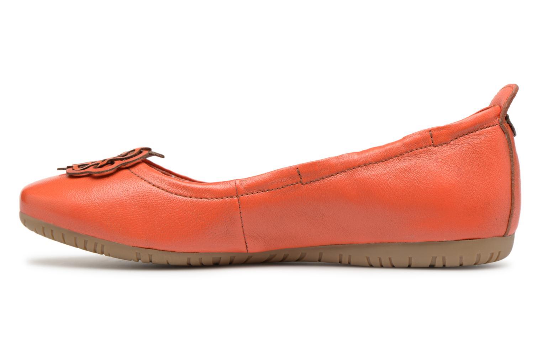 Venta de liquidación de temporada Kickers Rommy (Naranja) - Bailarinas en Más cómodo