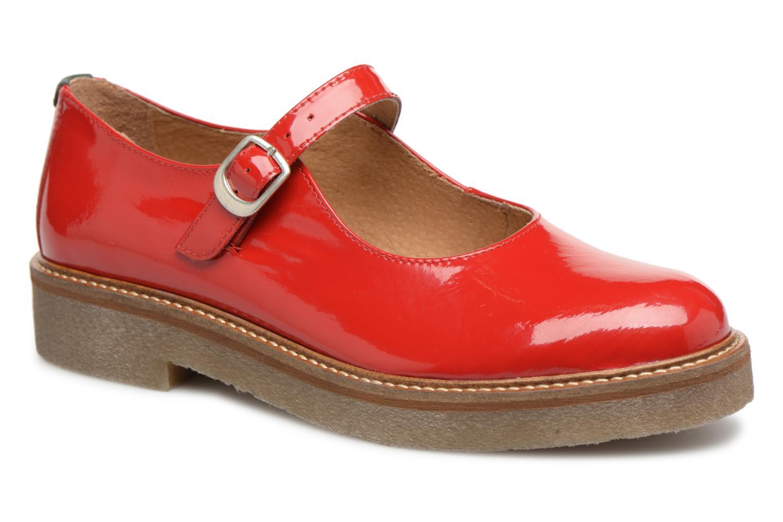 Tiempo limitado especial Kickers Oxitane (Rojo) - Bailarinas en Más cómodo