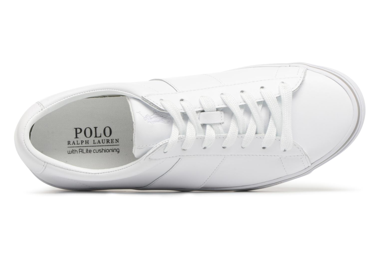 Trainers Polo Ralph Lauren Sayer White view from the left