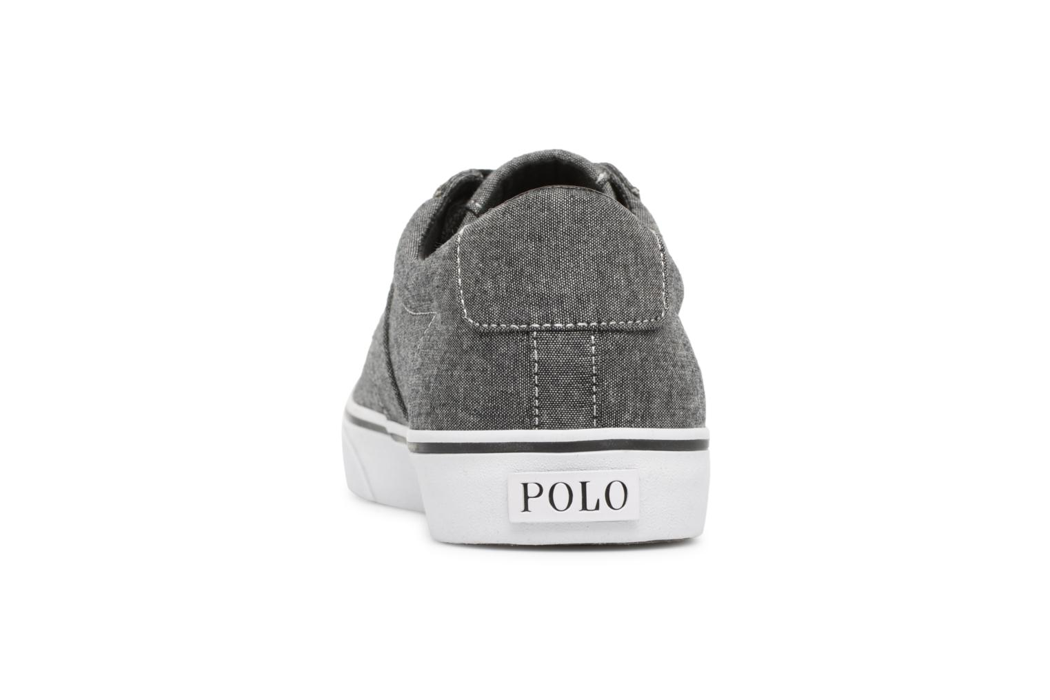 Trainers Polo Ralph Lauren Sayer Black view from the right