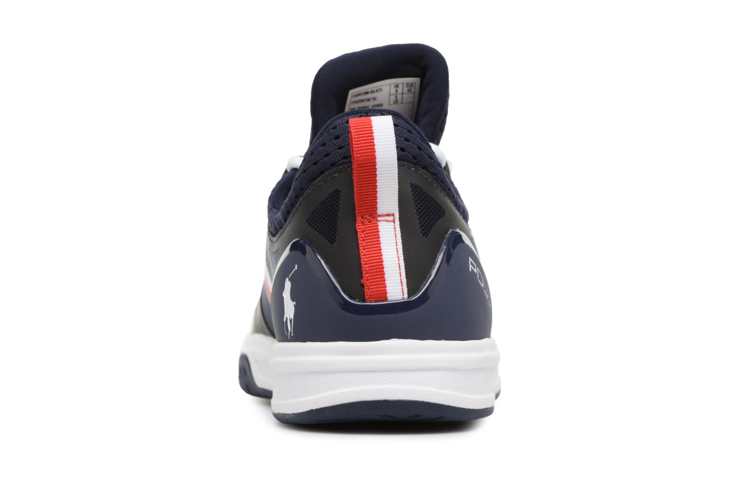 Trainers Polo Ralph Lauren Court200 Blue view from the right
