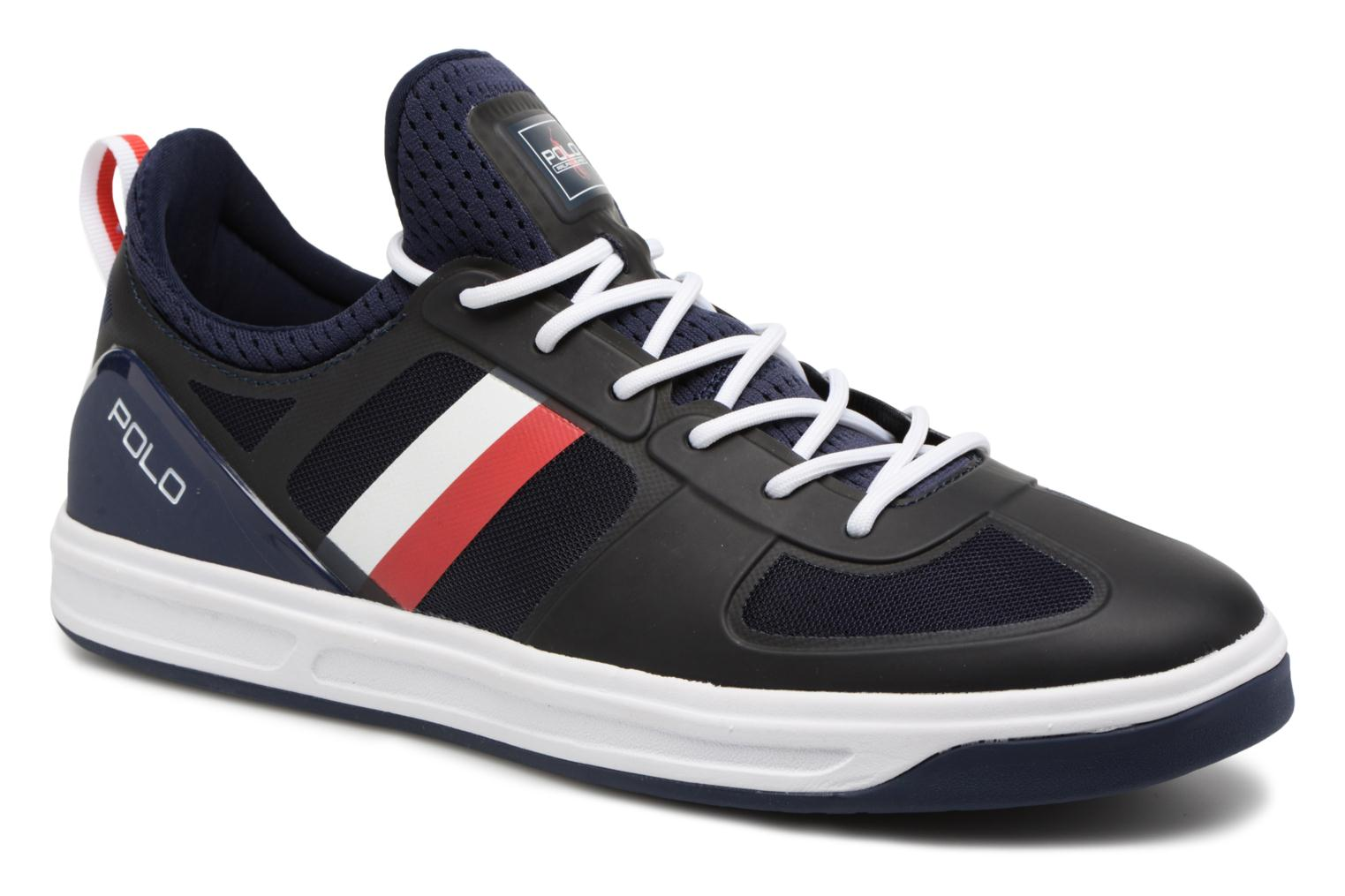 Trainers Polo Ralph Lauren Court200 Blue detailed view/ Pair view