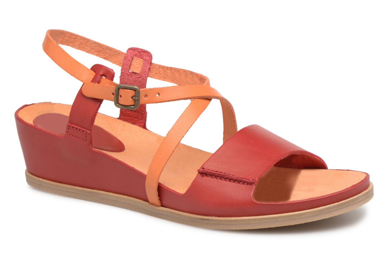 modelo más vendido de la marcaKickers Tahiti Femme (Rojo) - Sandalias en Más cómodo