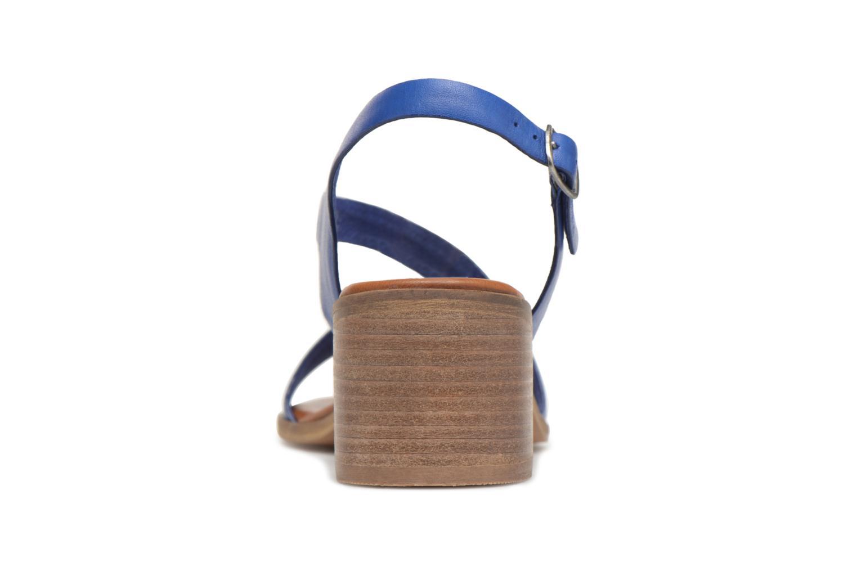Sandales et nu-pieds Kickers Volubil Bleu vue droite