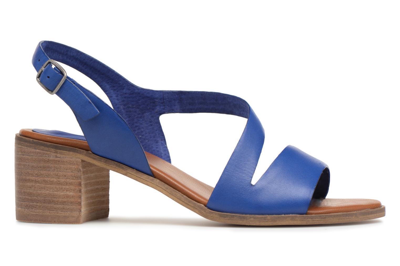 Sandales et nu-pieds Kickers Volubil Bleu vue derrière