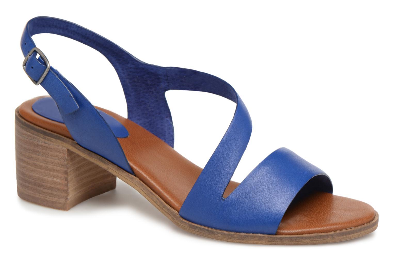 Sandales et nu-pieds Kickers Volubil Bleu vue détail/paire