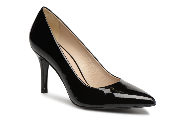 High heels Georgia Rose Rosace Black detailed view/ Pair view
