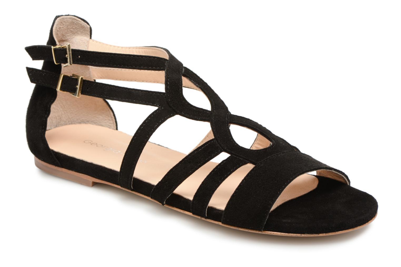 Zapatos de mujer baratos zapatos de mujer Georgia Rose Stephou (Negro) - Sandalias en Más cómodo