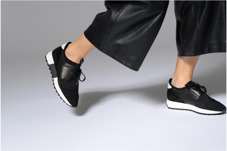 Sneakers Made by SARENZA 90's Girls Gang Baskets #3 Zwart onder
