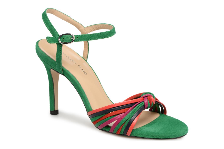 Sandales et nu-pieds Georgia Rose Embrin Vert vue détail/paire