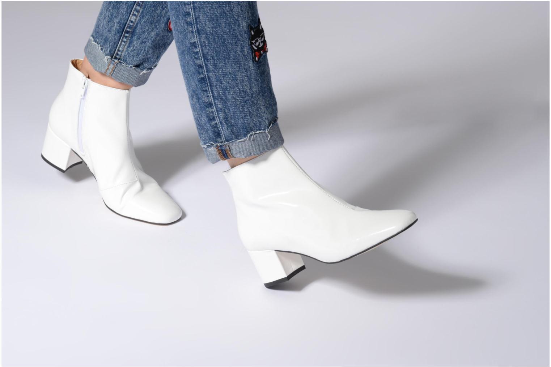 Boots en enkellaarsjes Georgia Rose Seventies Wit onder