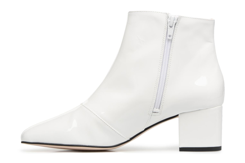 Bottines et boots Georgia Rose Seventies Blanc vue face
