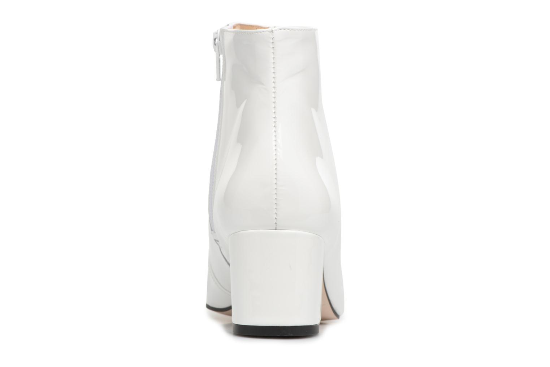Boots en enkellaarsjes Georgia Rose Seventies Wit rechts
