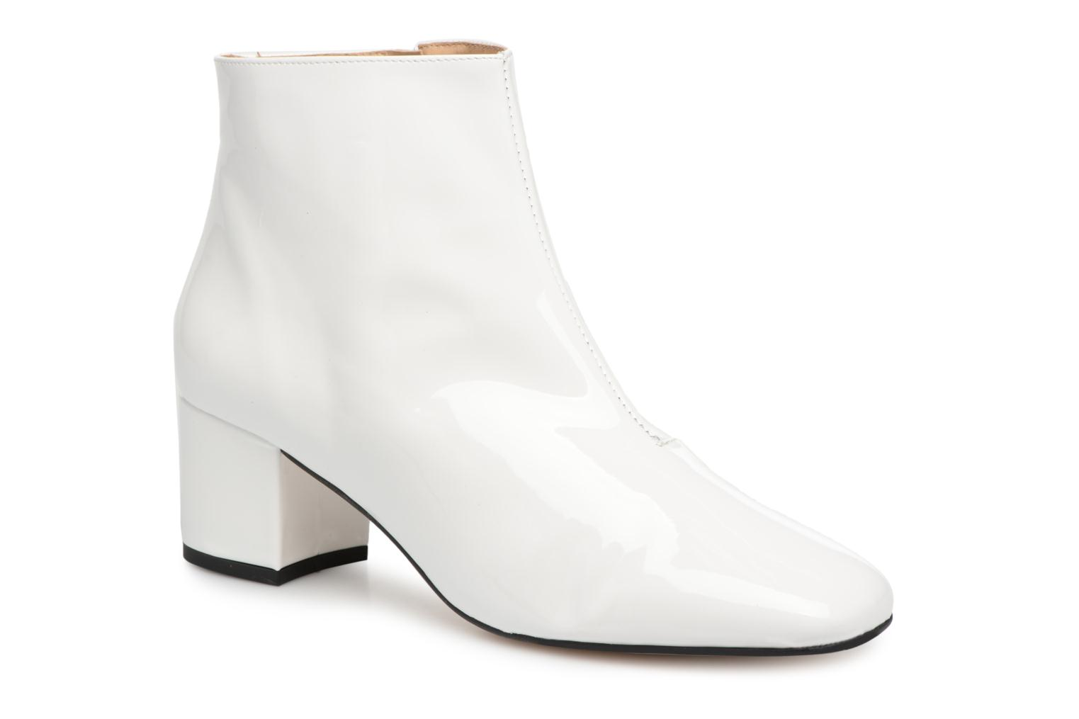 Bottines et boots Georgia Rose Seventies Blanc vue détail/paire