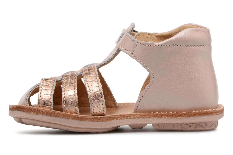 Sandales et nu-pieds Minibel Kegepy Rose vue face