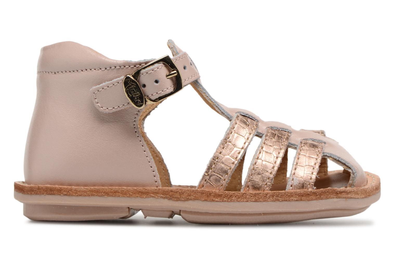 Sandales et nu-pieds Minibel Kegepy Rose vue derrière