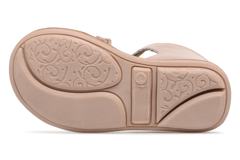Sandales et nu-pieds Minibel Kegepy Rose vue haut