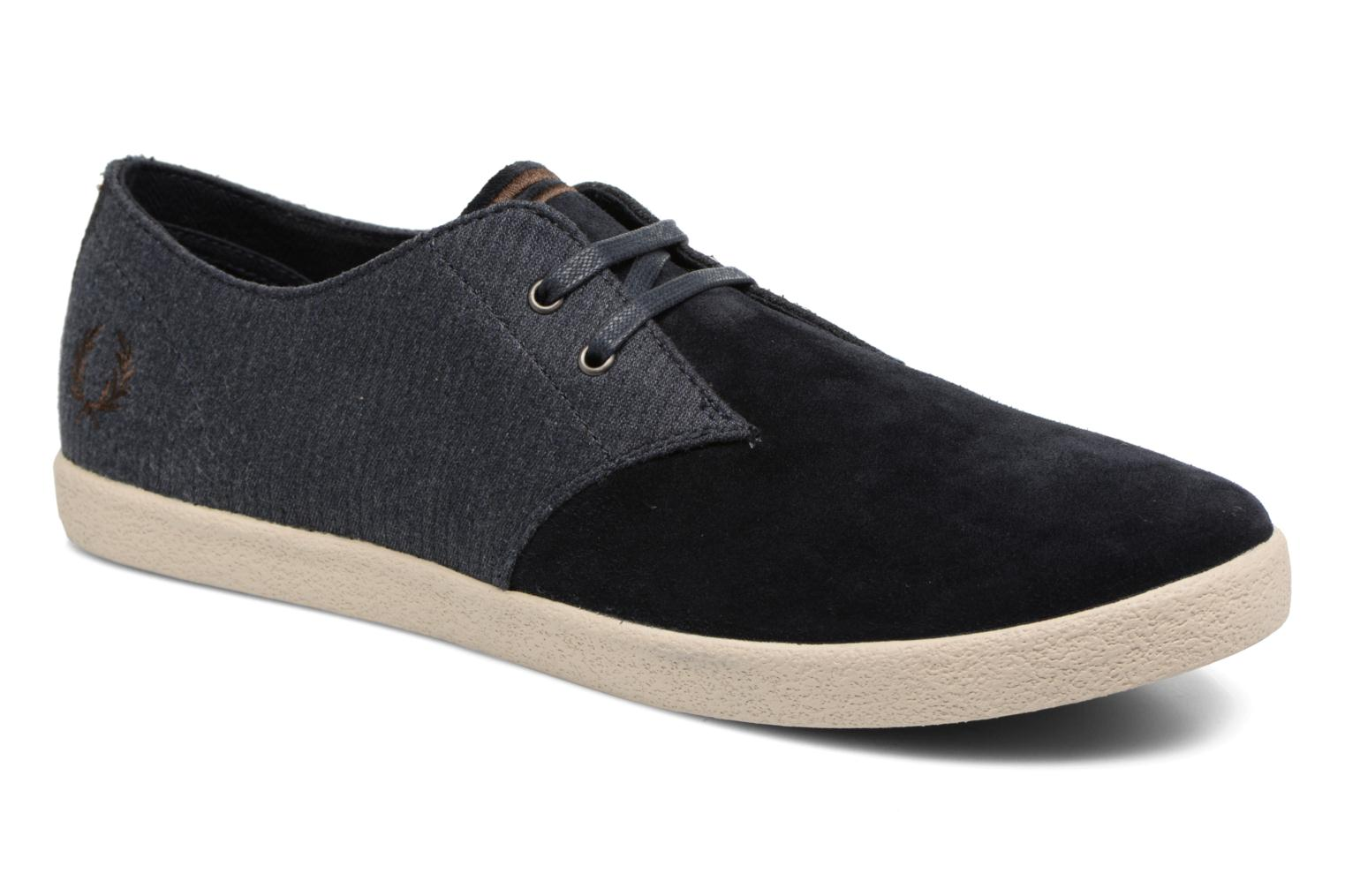 Fred Perry Byron Low Bedford Cord/ Suede Bas Prix Footlocker Finishline abordable Vente Pas Cher Vraiment 4CzOy