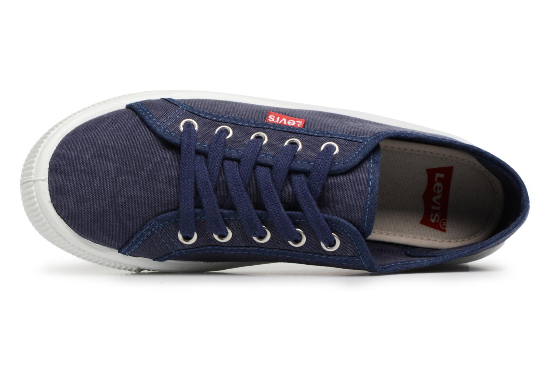 Baskets Levi's Malibu W Bleu vue gauche