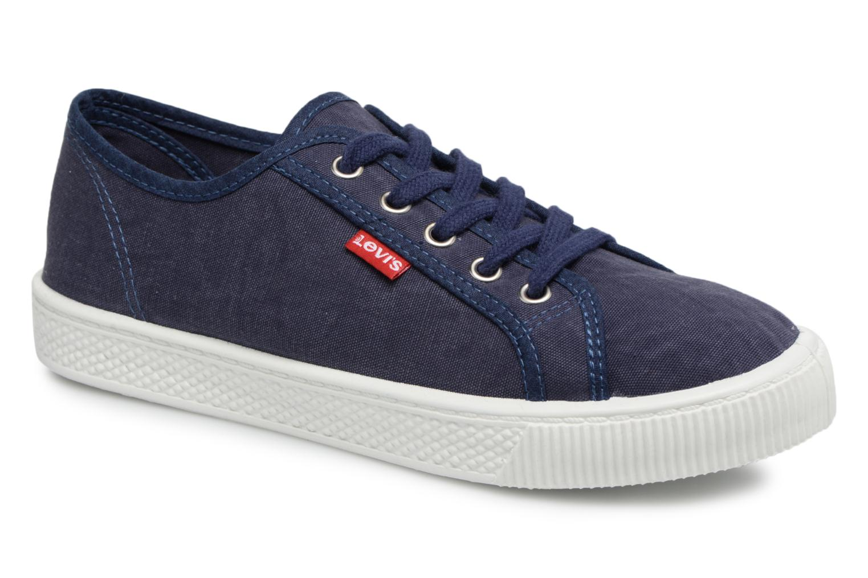 Baskets Levi's Malibu W Bleu vue détail/paire