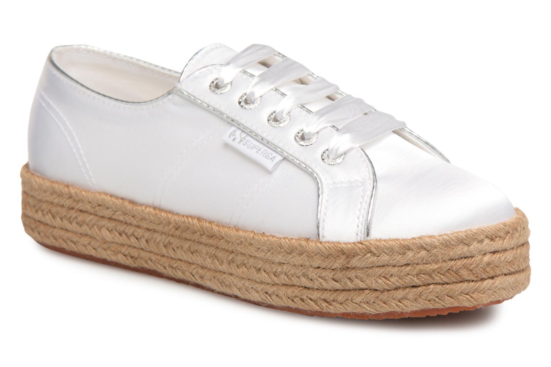 Grandes descuentos últimos zapatos Superga 2730 Satin Cotme (Blanco) - Alpargatas Descuento
