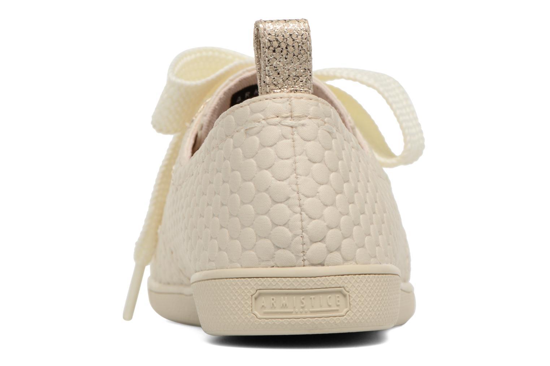Baskets Armistice Stone One Sweet W Blanc vue droite