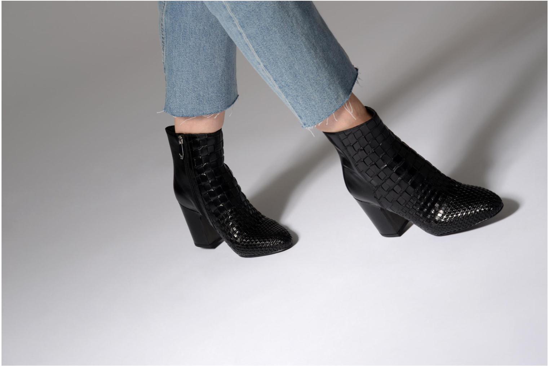 Bottines et boots What For Babeth Noir vue bas / vue portée sac