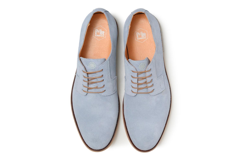 Chaussures à lacets Mr SARENZA Southampton Bleu vue portées chaussures