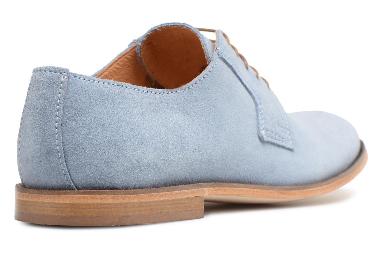 Chaussures à lacets Mr SARENZA Southampton Bleu vue face