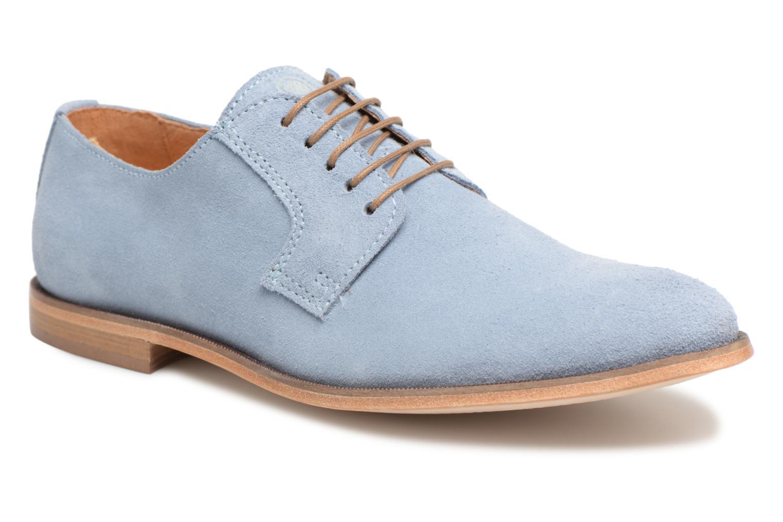 Chaussures à lacets Mr SARENZA Southampton Bleu vue droite